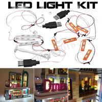 For Lego 10260 Downtown Diner Building Bricks ONLY LED Light Lighting Kit /| ✯