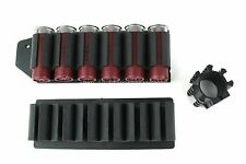 "Mossberg 500 590 Side Saddle Shell Carrier Holders 6 Round w/1"" Tube Mount"