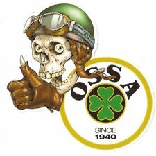Sticker OSSA left Skull gauche Sticker