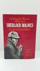 The Complete Original Illustrated Sherlock Holmes by Arthur Conan Doyle 1976 VTG