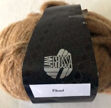 Lana Grossa CLOUD - SUPER BULKY WEIGHT SOFT ALPACA/MERINO YARN  COLOR  BROWN