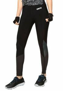 Leggings Sportivo Donna ARENA COMPRESSION LONG TIGHT W Nero Mis 40