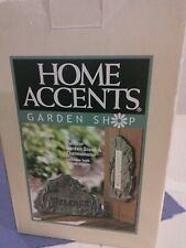 Home Accents Garden Shop Garden Stone And Thermometer