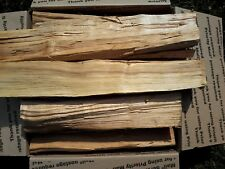 """Cherry Wood 12"""" Logs for Smoking BBQ Grilling Cooking Smoker Priority Shipping"""