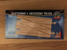Switching & Crossing Track #50922 (compatible with Brio, Thomas, others)