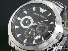 New Men's Emporio Armani AR0636 Watch Tags Warranty Box RRP $499