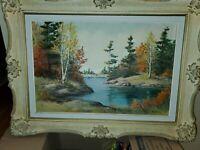 """Anna Jalava"" Canadian Landscape Painting Fall- signed Anna"