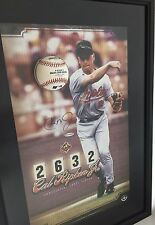 Orioles Cal Ripken Jr Autograph Framed Picture #1/100 Upper Deck COA 17x25