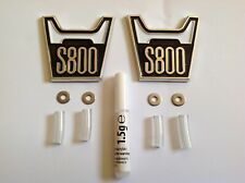 HONDA S800 - TWO WING BADGES - NEW