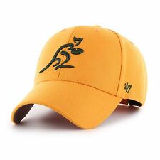 47 Brand ARU Wallabies Rugby Union Adult Cap Hat MVP (Gold) *VERY HIGH QUALITY*