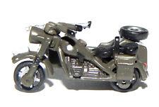 ORIGINAL 1987 LOOSE MICRO MACHINES MILITARY MOTORCYCLE BMW R75 W/SIDE CAR RARE!