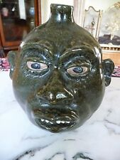 Fabulous LANIER MEADERS - Rare Round Face Jug - Upper 6-clay teeth -MINT-1970s