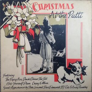 """THE MAN BAND & FRIENDS - CHRISTMAS AT THE PATTI - 2 x 10"""" RECORDS - FREE UK POST"""