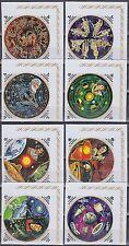 Burundi 1973 ** Mi.931/62 B Weltraum Space Espace Kopernikus Sternzeichen