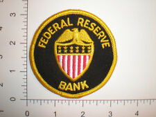 CA California San Francisco Federal Reserve Bank Security Police vintage patch