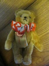 """HERMANN 1987 CLOWN GOLDEN MOHAIR TEDDY BEAR All Tags 8 1/2"""""""