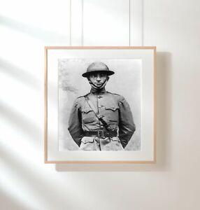 Photo: Harry S. Truman, 1884-1972, Artillery Captain, Uniform, WWI