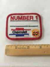 Chevrolet Patch Embroidered , Vintage Chevrolet Cadillac Patch