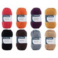 Patons 100% Wool DK Yarn Wool Knitting Crochet 50g Ball Double Knitting