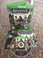 Assassin's Creed Syndicate - Xbox One Game - Private Seller - FREE & FAST P&P!