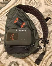 Simms Headwaters Fly Fishing Sling Pack Backpack Bag Case Fisherman Outdoors