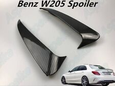C43 AMG Carbon Fiber Style Canard/Air Vent Cover Trim For Benz C class W205 4-D