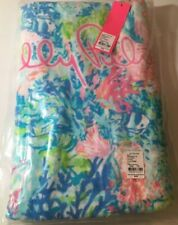 """Lilly Pulitzer Beach Towel~GWP~~Fished My Wish~~NWT~29"""" x 60""""~100% Cotton~"""