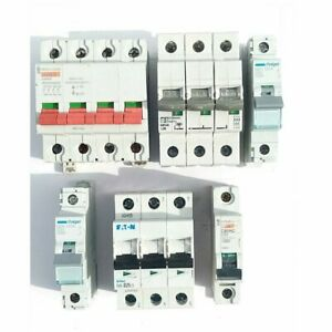 Misc MCB's, Various types. 3 Pole MCB. Single Pole MCB. Job Lot.