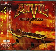 ANVIL HOPE IN HELL 2014 JAPAN CD +1 - BRAND NEW FACTORY SEALED - GIFT QUALITY!
