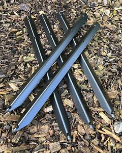 Railway Sleeper Straight Edge Metal Fixing Peg Timber Fencing Border Roll Pin