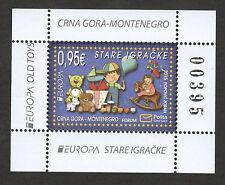 MONTENEGRO-MNH** BLOCK-EUROPA CEPT-OLD TOYS-2015.
