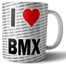 I Love BMX Tea - Coffee - Mug - Cup - Birthday - Christmas - Gift