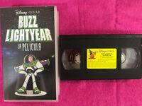 BUZZ LIGHTYEAR VHS CINTA TAPE DISNEY PIXAR LA PELICULA