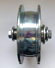 Lufrolle unten 125 mm  Schiebtor doppelt gelagert MEA 337638 Laufschine max 25