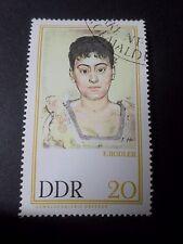 ALLEMAGNE DDR DEUTSCHLAND timbre TABLEAU PAINTING HODLER, oblitéré GERMANY STAMP