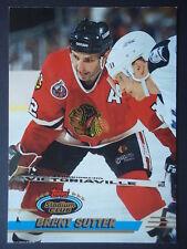 NHL 211 Brent Sutter Chicago Blackhawks Stadium Club 1993/94