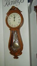 Kieninger Wanduhr Quarz Uhr Holz Kirsche antik 5257-42-02