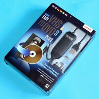 Roxio Easy VHS to DVD 3 Plus - Convert VHS Tapes to DVD Windows 10, 8, 7, Vista