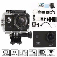 4K 2'' Ultra HD 1080P Sport WiFi Cam Action Camera DV Video Recorder Waterproof