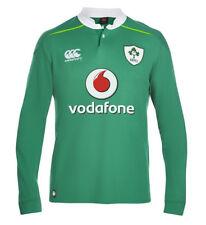 Ireland RFU Home Classic Long Sleeve Rugby Jersey