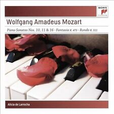 Mozart: Piano Sonatas Alicia De Larrocha MUSIC CD