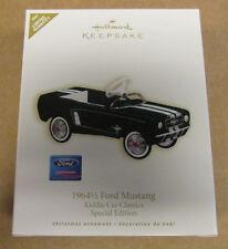 Hallmark - Keepsake Ornament - 1964 1/2 Ford Mustang - Kiddie Car - Limited 2007
