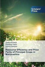 NEW Resource Efficiency and Price Parity of Principal Crops in Maharashtra