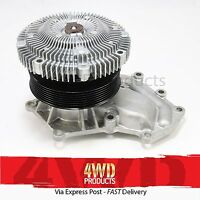 Water Pump & Fan Clutch - for Nissan Navara D22-II 3.0TD ZD30 (01-06)