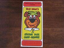 Yogi Bear's Jellystone Park Camp Resort Amherstburg Ontario Canada Brochure