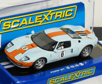 Scalextric C3324 Ford GT Gulf Heritage #6 USA Limited Edition Slot Car 1/32