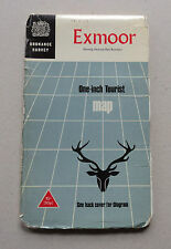 Ordnance Survey One-inch Tourist Map:  EXMOOR 1967