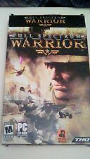 Full Spectrum Warrior (2004) PC CD-ROM BIG Box version computer game U.S. Army