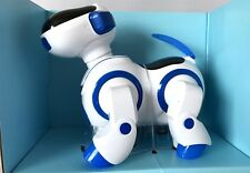 LIGHT & MUSIC BATTERY OPERATED DANCING SINGING STEERING SWING MOVING DOG ROBOT