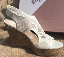 Wedge Sandals Size 8.5 Fergalicious